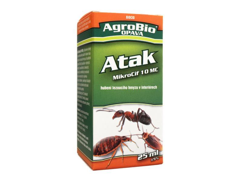 Přípravek proti lezoucímu hmyzu AgroBio Atak DeltaCaps 25 ml