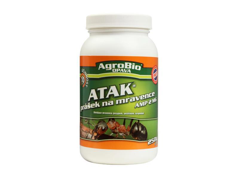 Přípravek proti mravencům AgroBio Atak AMP 2 MG 250g