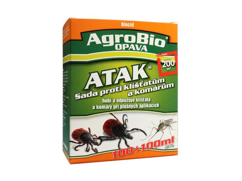 Sada proti klíšťatům a komárům AgroBio Atak 200 ml