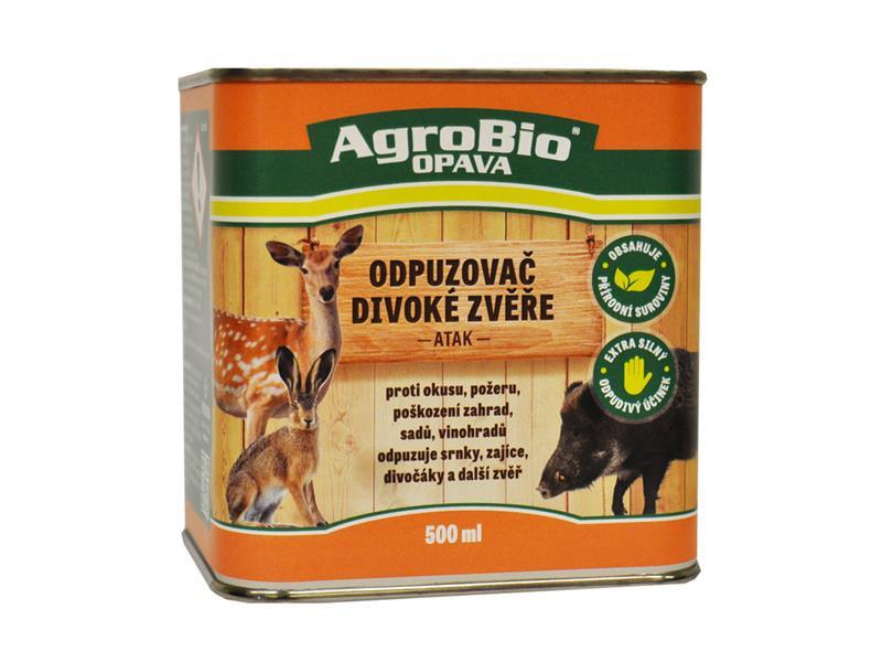 Odpuzovač divoké zvěře AgroBio Atak 500 ml