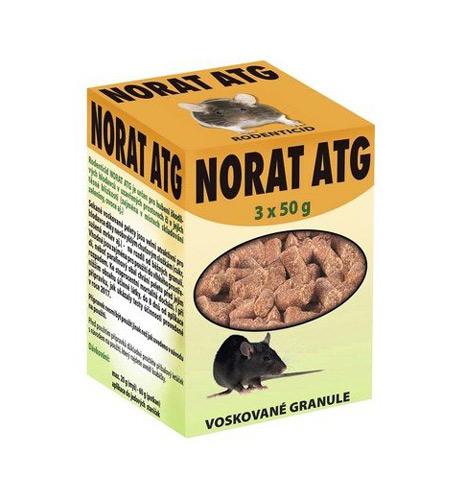 Granule proti myším a potkanům AgroBio Norat ATG 150g