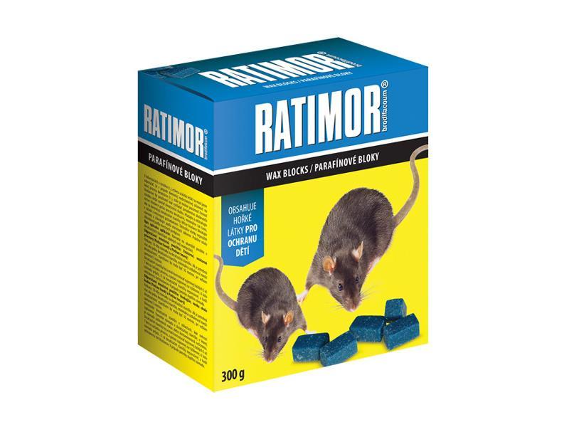 Nástraha proti myším, krysám a potkanům AgroBio Ratimor 300g