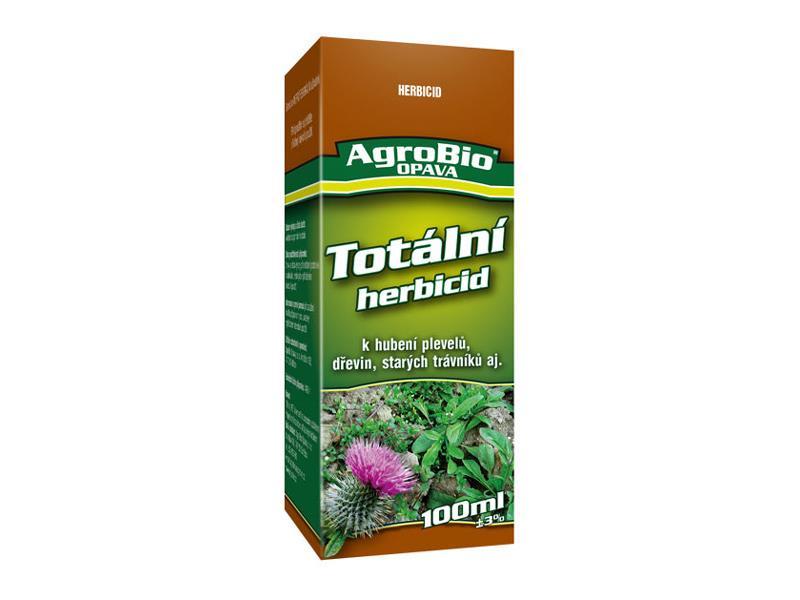 Přípravek k hubení jednoletých a víceletých plevelů AgroBio Totální herbicid 100 ml