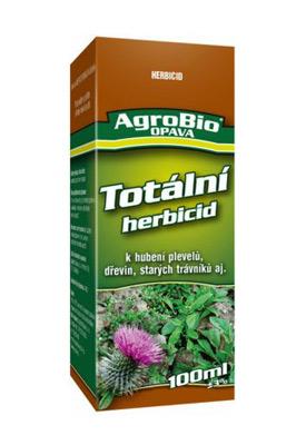 Přípravek k hubení jednoletých a víceletých plevelů AgroBio Totální herbicid 250 ml