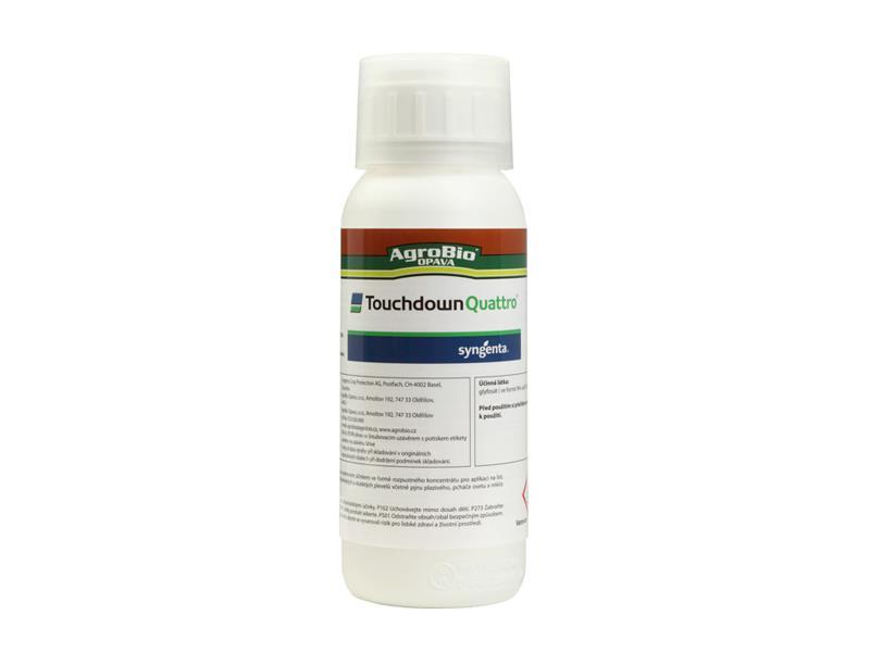 Přípravek proti jednoletým a víceletým plevelům AgroBio Touchdown Quattro 500 ml