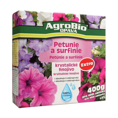 Hnojivo krystalické AgroBio KH Extra Petunie a surfinie 400g