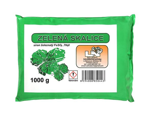 Hnojivo trávníkové AgroBio Skalice zelená 1kg