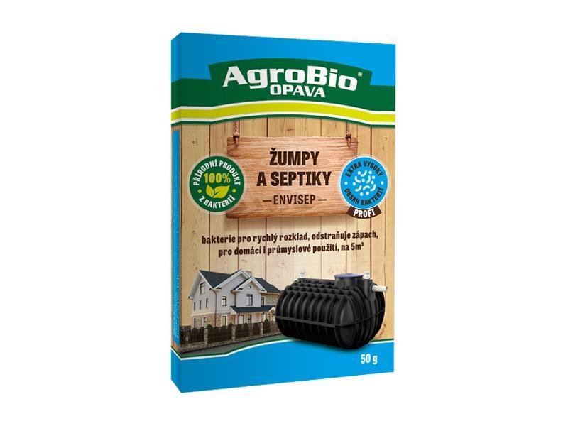 Přípravek k rozkladu organických nečistot v žumpách a septicích AgroBio Envi Sep 50g