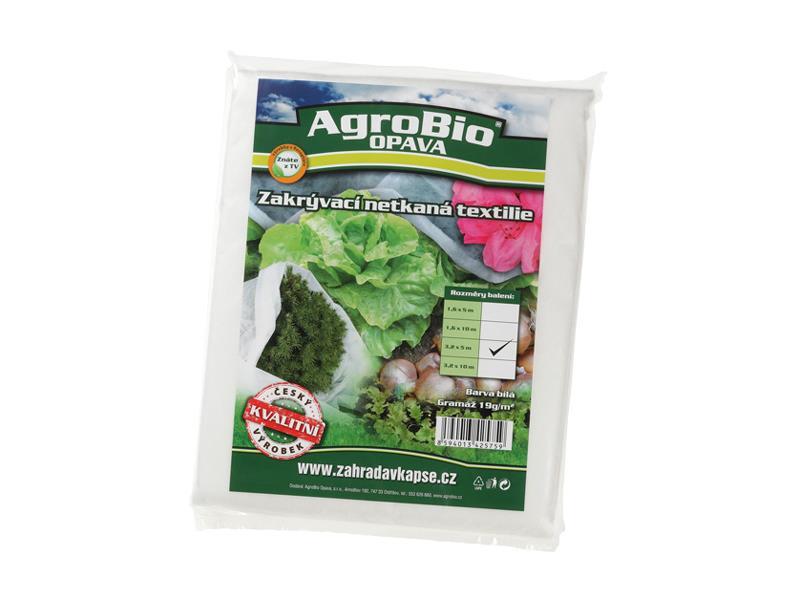 Textilie netkaná AgroBio 3.2x5m bílá