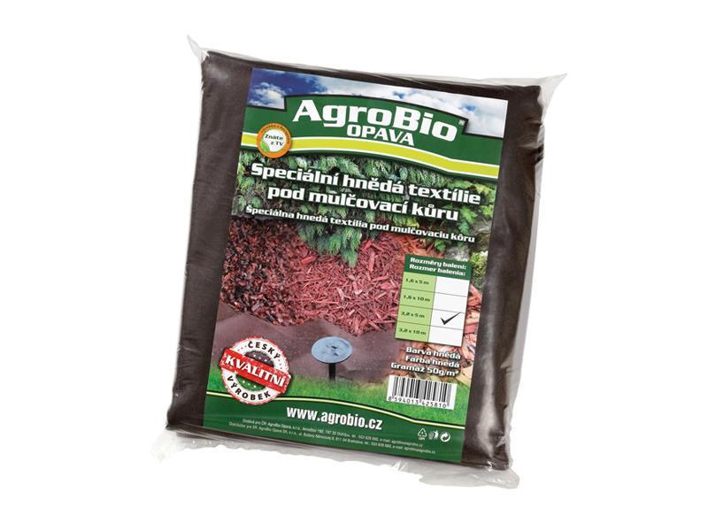 Textilie netkaná AgroBio 3.2x5m hnědá