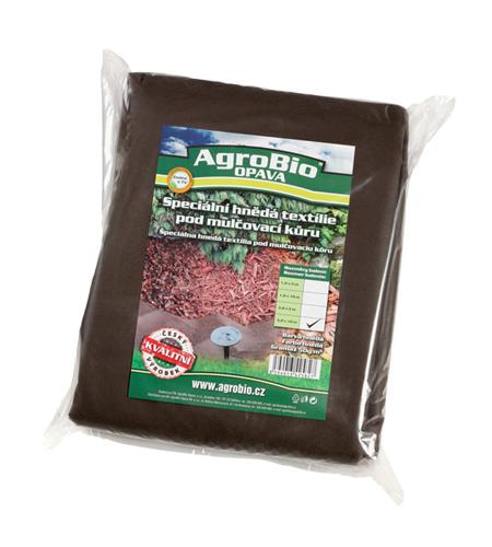 Textilie netkaná AgroBio 3.2x10m hnědá