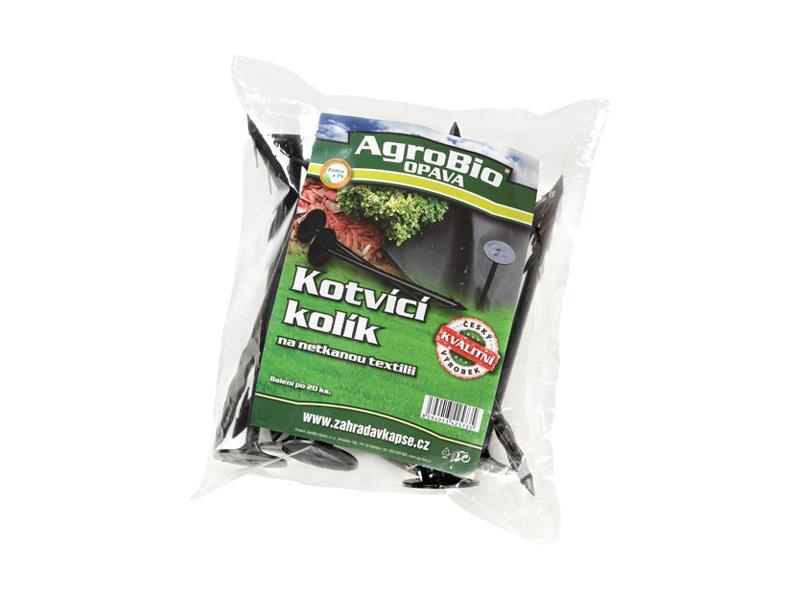 Kotvící kolík pro netkanou textilii AgroBio 20ks
