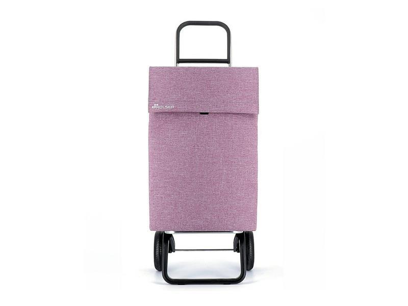 Vozík nákupní ROLSER Jean Tweed Convert RG Purple