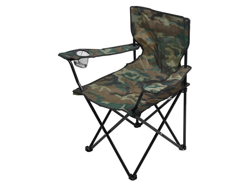 Židle kempingová CATTARA 13450 BARI ARMY skládací