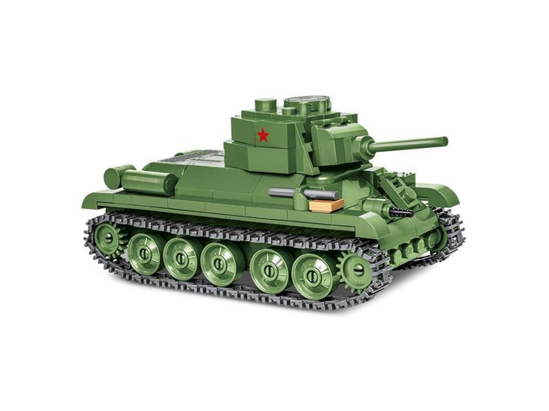 Stavebnice COBI 2706 II WW T-34/76, 1:48, 270 k