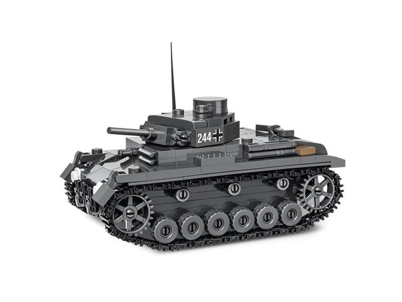Stavebnice COBI 2707 II WW PzKpfw III Ausf J, 1:48, 290 k