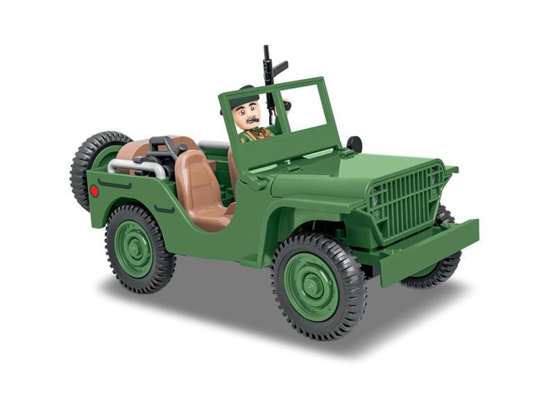 Stavebnice COBI 2400 II WW Ford GP, 91 k, 1 f