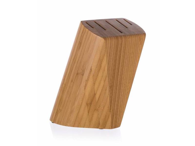 Stojan na nože BANQUET Brillante Bamboo 22x13,5x7cm