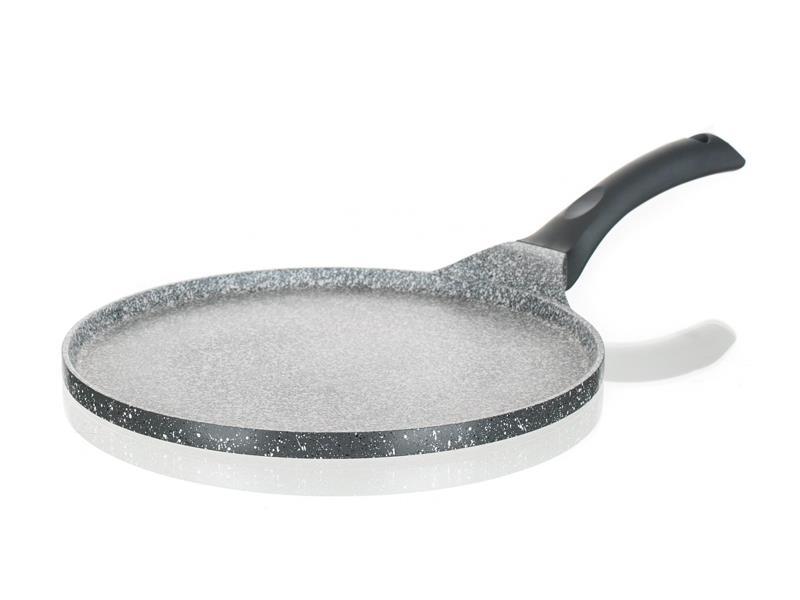 Pánev BANQUET Granite na palačinky Grey 26cm