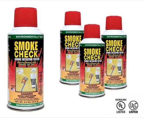 Testovací sprej detektoru kouře SmokeCheck