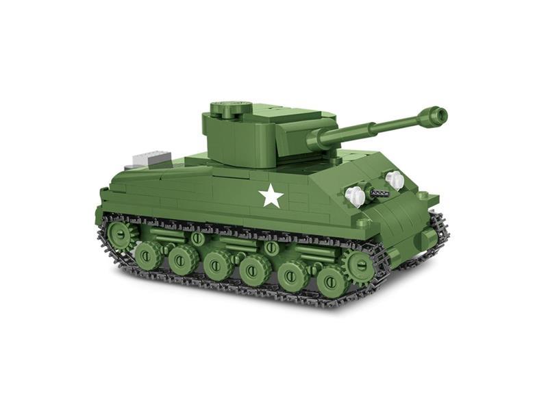 Stavebnice COBI 2705 II WW Sherman M4A3E8 Easy Eight, 1:48, 315 k