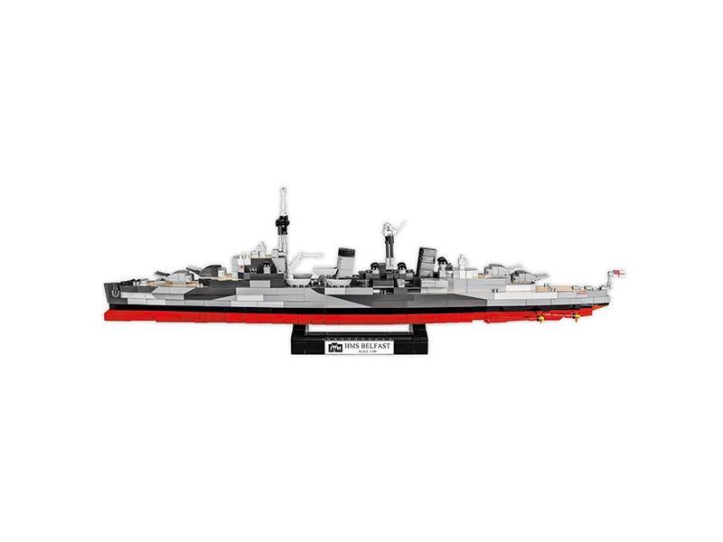 Stavebnice COBI 4821 II WW HMS Belfast, 1:300, 1482 k