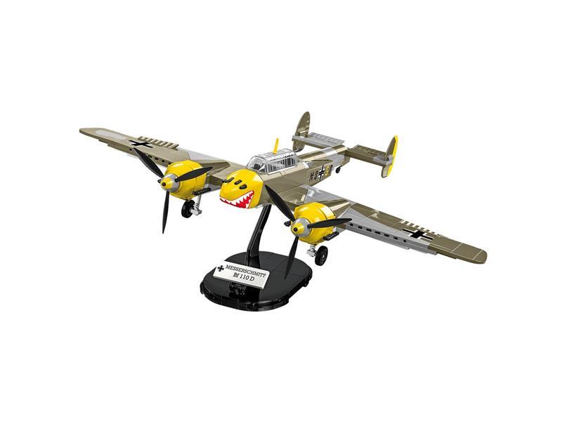 Stavebnice COBI 5716 II WW Messerschmitt BF 110B, 422 k, 2 f