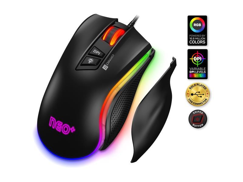 Myš drátová CONNECT IT CMO-3591-BK NEO+ herní