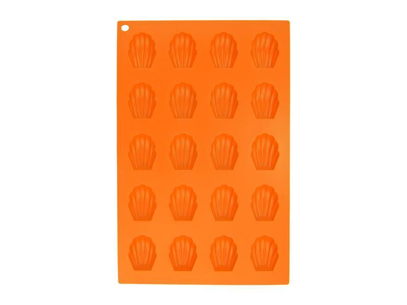 Forma na pečení ORION Pracny 20 silikon oranžová