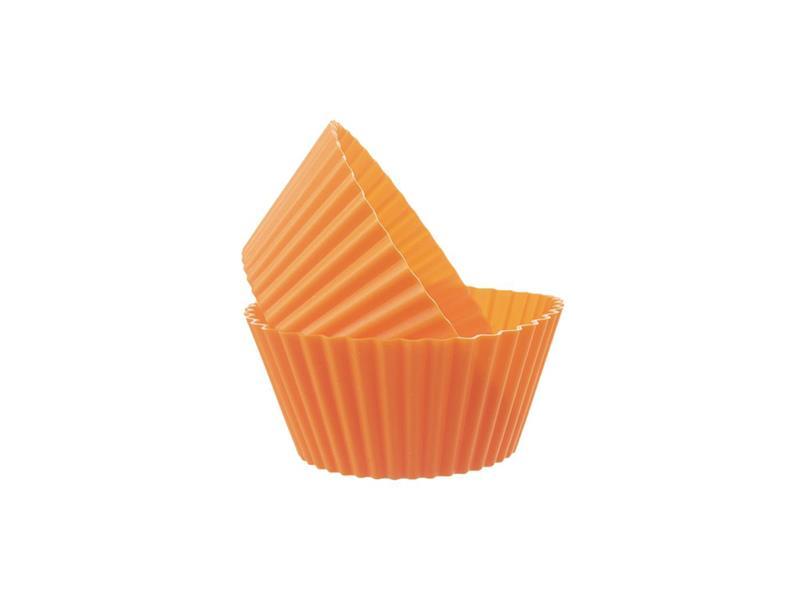 Forma na pečení ORION Muffiny silikon oranžová 6ks