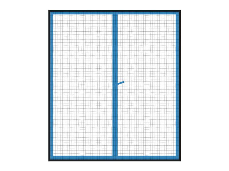 Síť proti hmyzu na okno ORION 130x150 cm černá 2ks