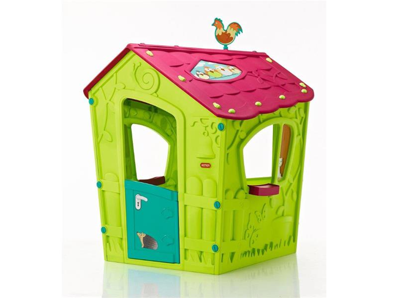 Dětský domeček KETER Magic Play House Green