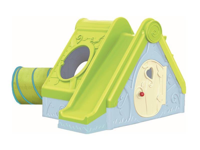Dětské hřiště KETER Funtivity Playhouse Light Green/Blue