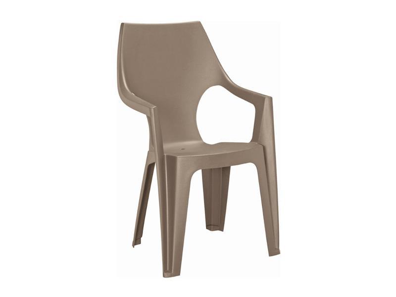 Židle zahradní KETER Dante Highback Cappuccino