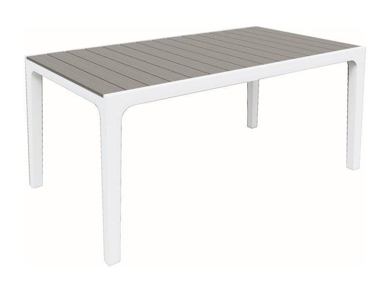 Stůl zahradní KETER Harmony White/Light Grey