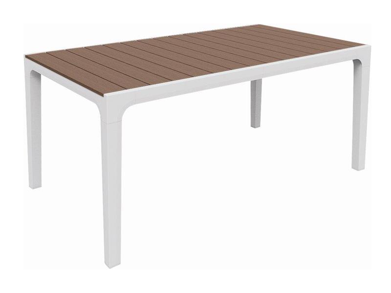 Stůl zahradní KETER Harmony White/Cappuccino