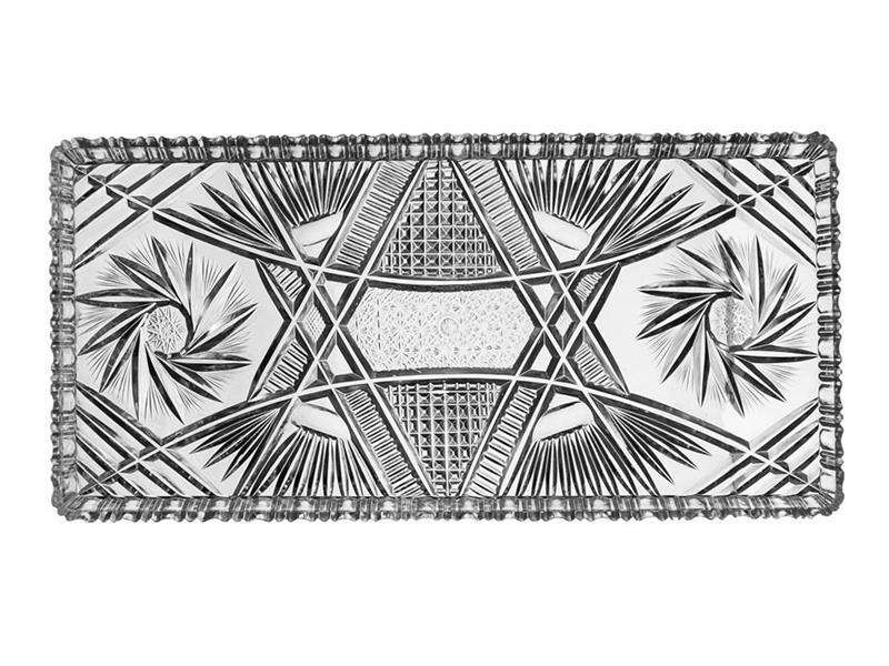 Tác servírovací ORION Krystal 34,5x16cm