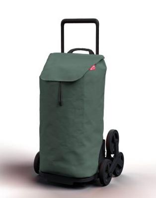 Vozík nákupní GIMI TRIS FLORAL GREEN 52L 168423