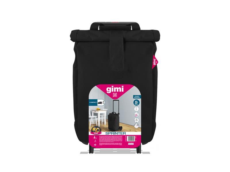 Vozík nákupní GIMI SPRINTER BLACK 50L 168407
