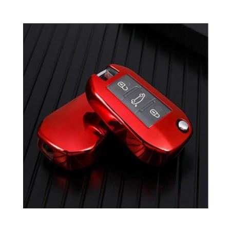Obal na klíče PEUGEOT 208/307/308 Red silikon