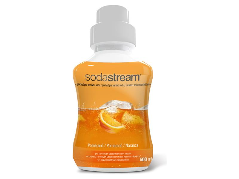 Sirup SodaStream 500ml Pomeranč