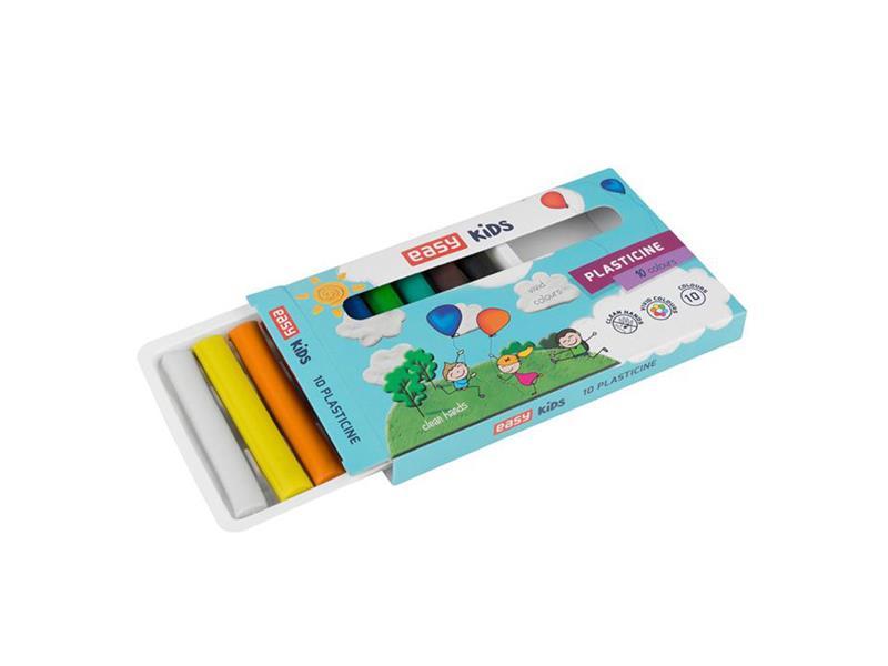 Plastelína EASY Creative sada 10 barev 160g