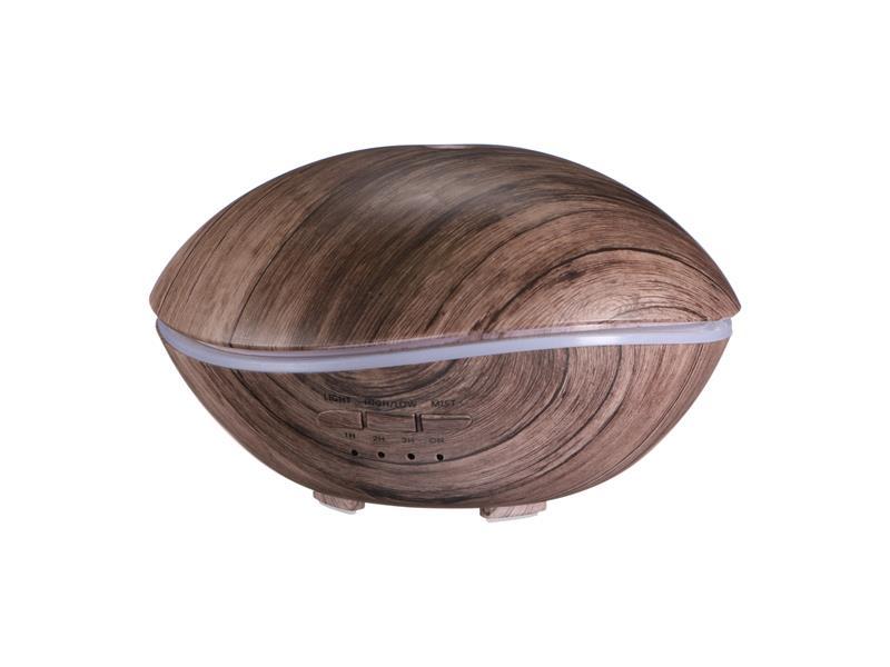 Aroma difuzer SIXTOL STONE šedé dřevo