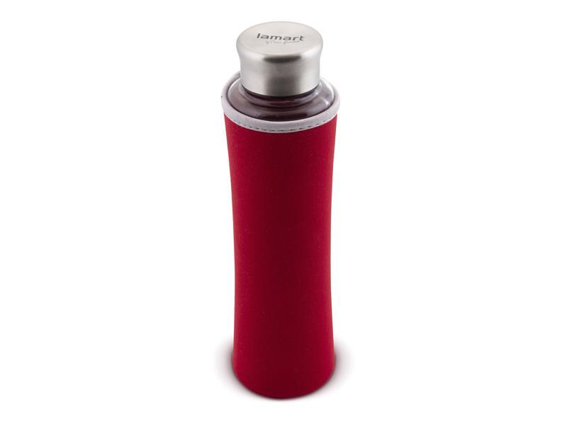 Láhev na vodu LAMART LT9029 ECO červená