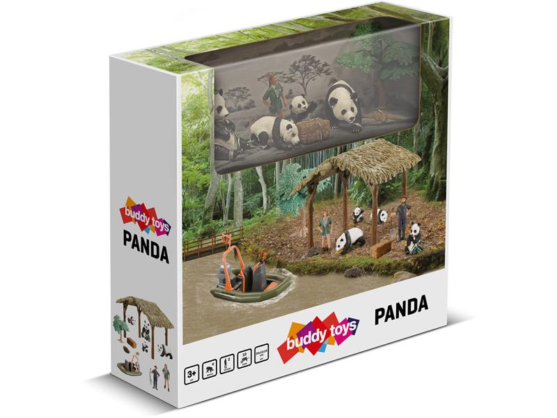 Rodinka pandy BUDDY TOYS BGA 1031