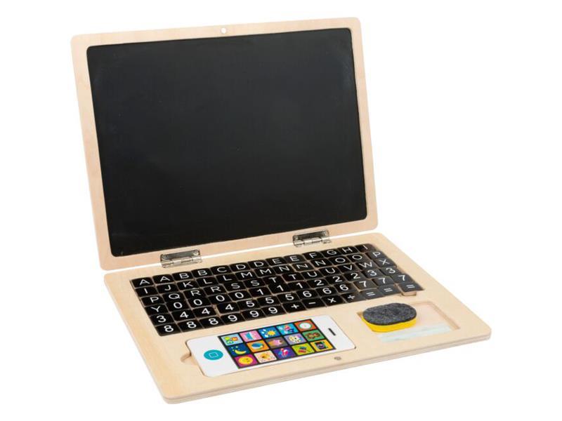 Dětský notebook magnetický SMALL FOOT dřevěný