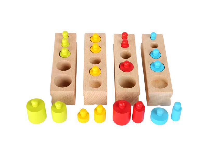 Dětská vkládačka SMALL FOOT Závaží dřevěná