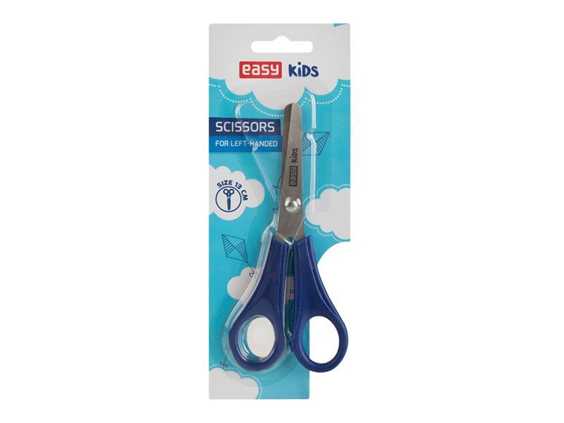 Nůžky pro leváky EASY 13cm modré