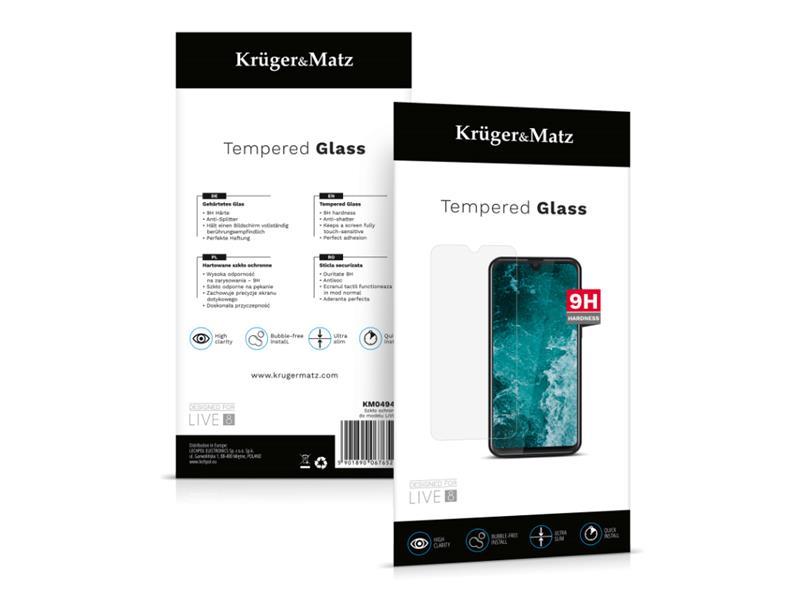 Sklo ochranné KRUGER & MATZ pro LIVE 8 KM0494S