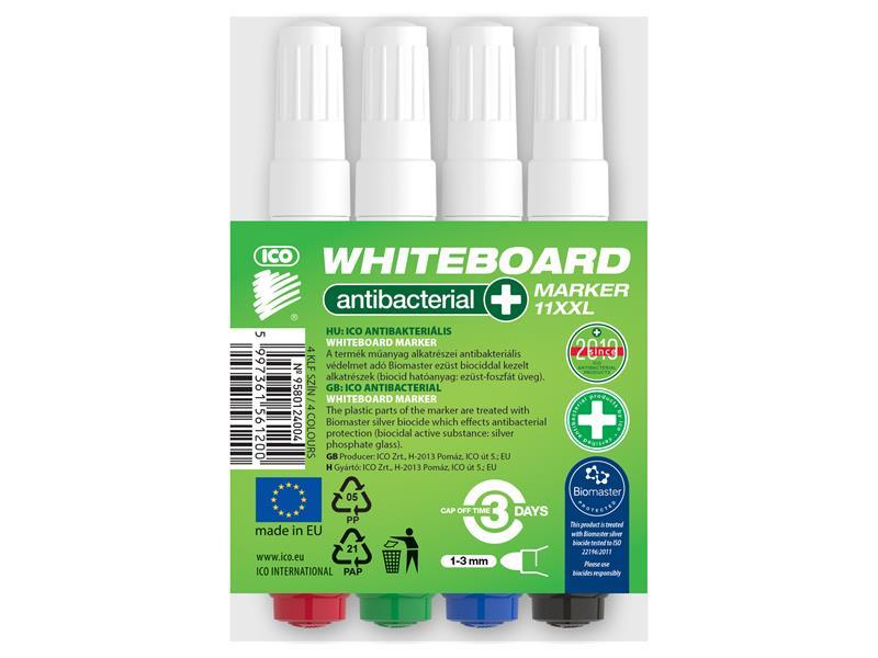Fix popisovač na bílé tabule ICO 4 barvy